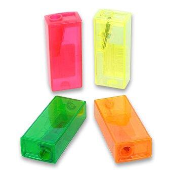 Obrázek produktu Ořezávátko Faber-Castell Flue - s odpadní nádobkou - 1 otvor, mix barev