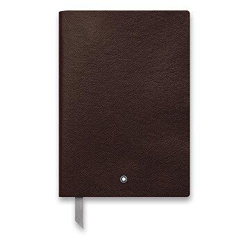 Obrázek produktu Kožený zápisník Montblanc 146 - A5, linkovaný, hnědý