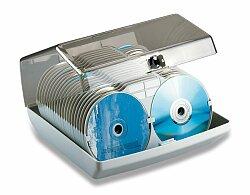 Uzamykatelný box na CD Esselte