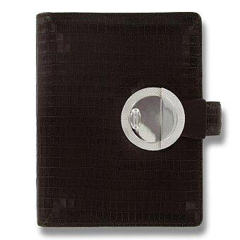 Obrázek produktu Kapesní diář Filofax Deco A7 - hnědý