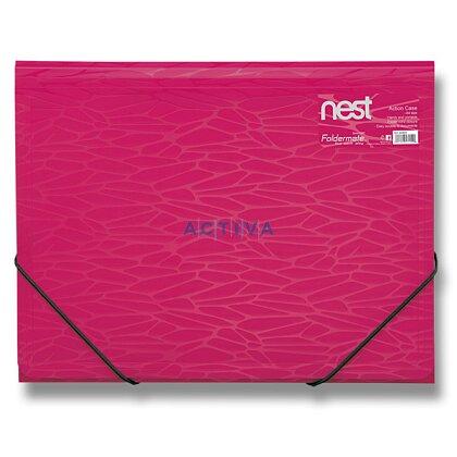 Obrázek produktu Foldermate NEST Action Case - tříchlopňové desky - růžové