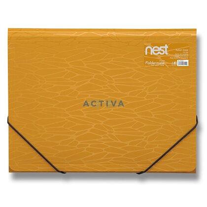 Obrázek produktu Foldermate NEST Action Case - tříchlopňové desky - zlatožluté
