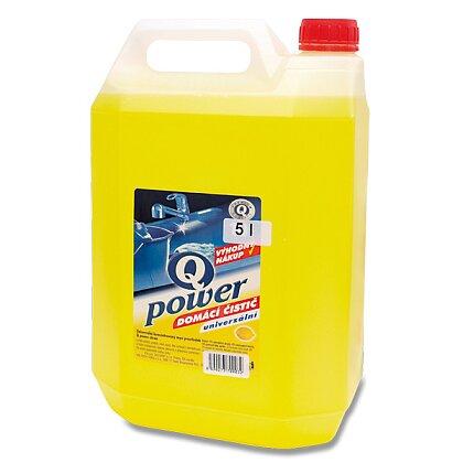 Obrázek produktu Q Power - univerzální domácí čistič - citron 5 l