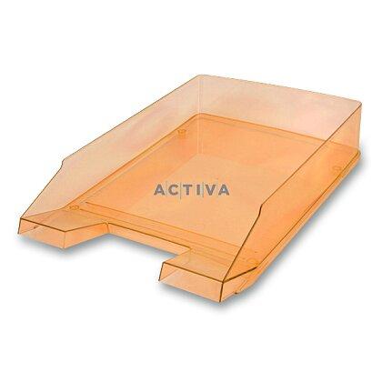 Obrázek produktu Helit Economy Transparent - kancelářský odkladač - oranžový