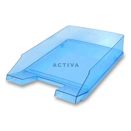 Obrázek produktu Helit Economy Transparent - kancelářský odkladač - modrý