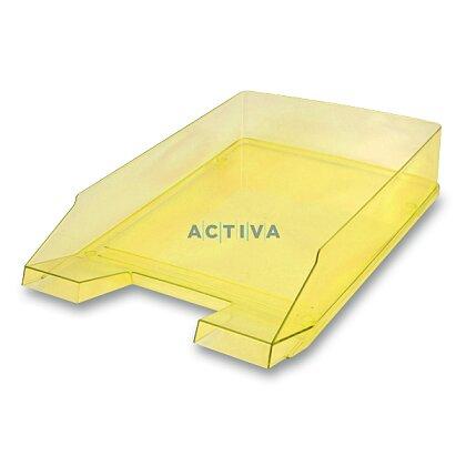 Obrázek produktu Helit Economy Transparent - kancelářský odkladač - žlutý