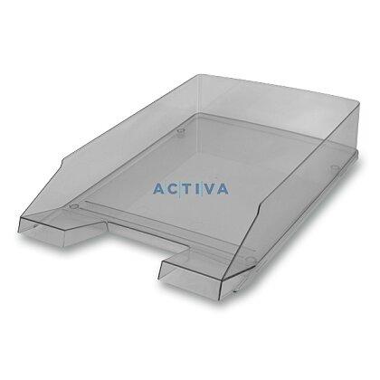 Obrázek produktu Helit Economy Transparent - kancelářský odkladač - šedý