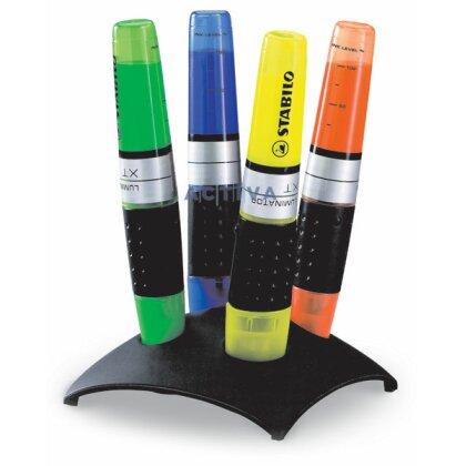 Obrázek produktu Stabilo Luminator - zvýrazňovač - 4 barvy ve stojanu