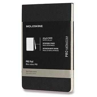 Obrázek produktu Poznámkový blok Moleskine Professional - S, linkovaný, černý