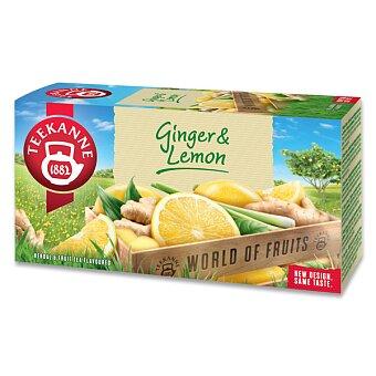 Obrázek produktu Ovocný čaj Teekanne  Ginger Lemon - 20 sáčků
