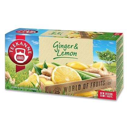 Obrázek produktu Teekanne - ovocný čaj- Ginger Lemon, 20 ks