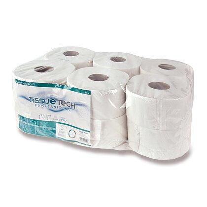 Obrázek produktu Tissue Tech Professional Jumbo - toaletní papír - 2vrstvý, průměr 18,5 cm, návin 135 m, 12 ks