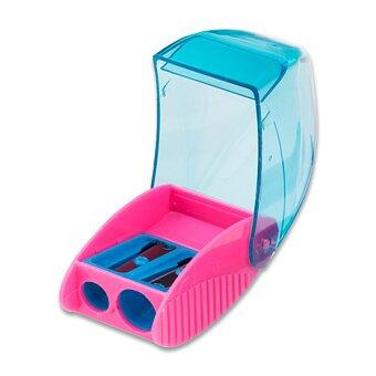 Obrázek produktu Ořezávátko Kores Snappy - s odpadní nádobkou - 2 otvory, mix barev