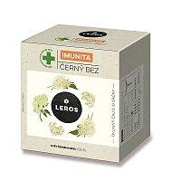 Bylinný čaj Leros Imunita Černý bez