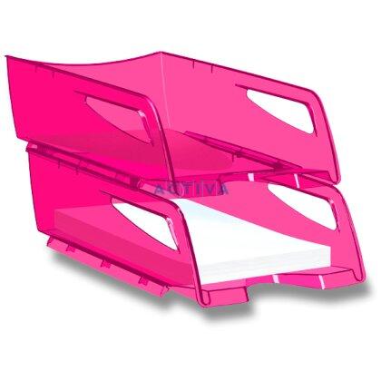 Obrázek produktu CEP Pro Happy - kancelářský velkokapacitní odkladač - růžový