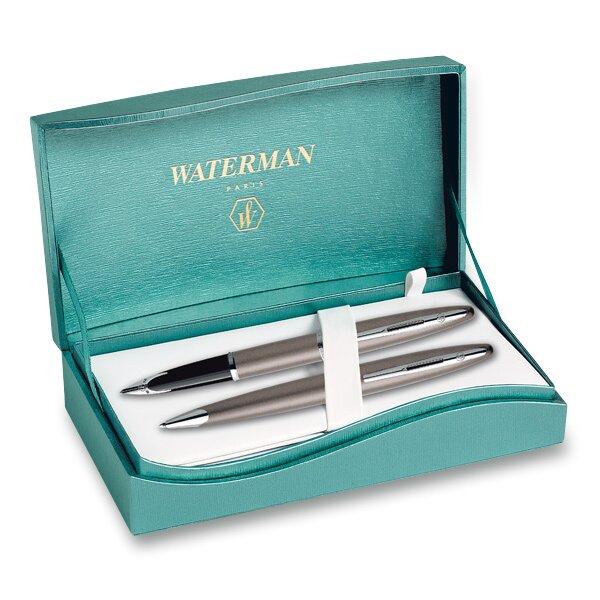Waterman Carène Sand sada plnicí pero a kuličková tužka
