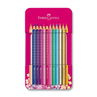 Obrázek produktu Pastelky Faber-Castell Sparkle - 12 barev