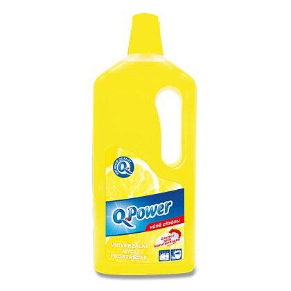 Obrázek produktu Q Power - univerzální domácí čistič - citron, 1 l
