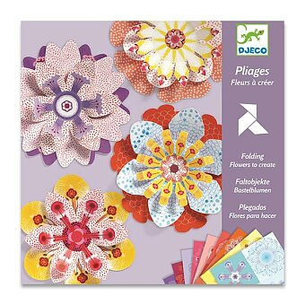 Obrázek produktu Origami skládačka Djeco - květiny