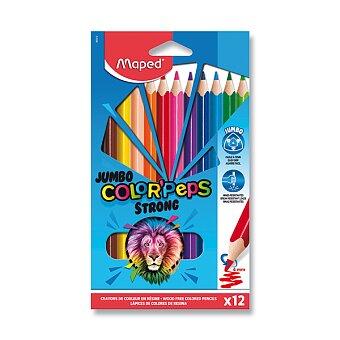 Obrázek produktu Pastelky Maped Color'Peps Strong Jumbo - 12 barev