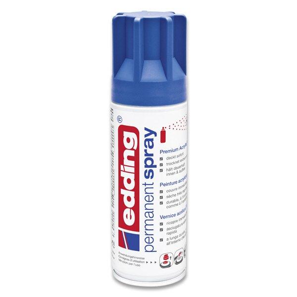 Akrylový sprej Edding 5200 modrá matná 903