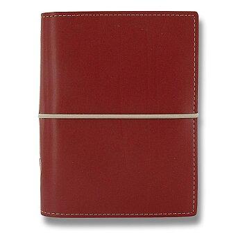 Obrázek produktu Kapesní diář Filofax Domino A7 - červený
