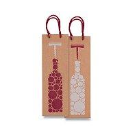 Dárková taška na víno Sadoch Bottiglia Kraft