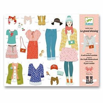 Obrázek produktu Sada vystřihovánek Djeco - Velká šatna