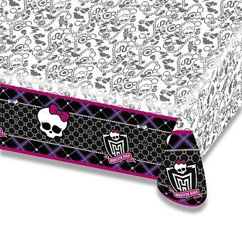 Obrázek produktu Plastový ubrus Monster High - 120×180 cm