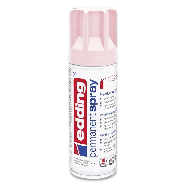 Akrylový sprej Edding 5200 pastelově růžová 914