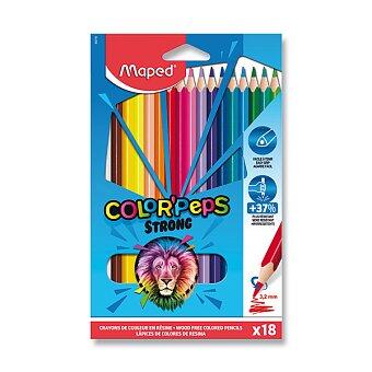 Obrázek produktu Pastelky Maped Color'Peps Strong - 18 barev