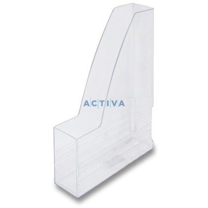 Obrázek produktu Chemoplast Office Transparent - plastový stojan na katalogy - transparentní