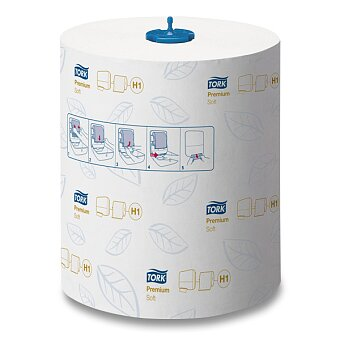 Obrázek produktu Jemné papírové ručníky Tork Matic - 2 - vrstvé, bílé, návin 120 m