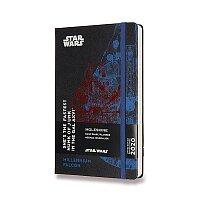 Diář Moleskine 2020 Star Wars, tvrdé desky