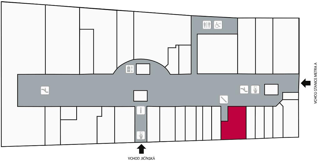 Mapa Bibelot Atrium Flora