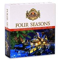 Vánoční kolekce čajů Basilur Four Seasons