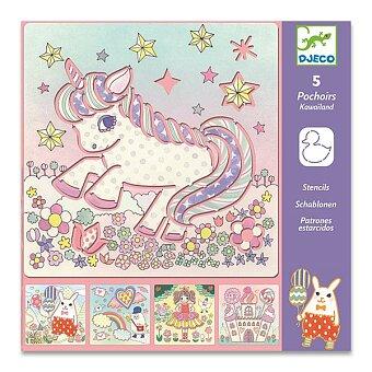 Obrázek produktu Šablony Djeco - Kawailand