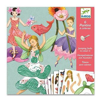 Obrázek produktu Pohyblivé figurky Djeco - Víly