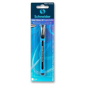 Obrázek produktu Kuličková tužka Schneider Slider Memo XB - černá