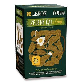 Obrázek produktu Zelený čaj Leros Čajovna z Číny - 20 sáčků