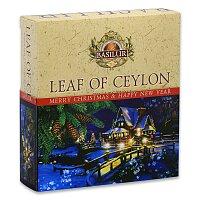 Vánoční kolekce pravého cejlonského čaje Basilur Leaf of Ceylon