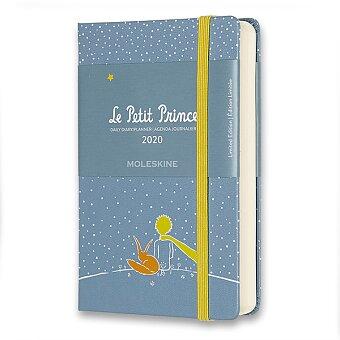 Obrázek produktu Diář Moleskine 2020 Le Petit Prince, tvrdé desky - S, denní, Liška, modrý