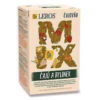 Výběr čajů a bylinek Leros Čajovna Mix