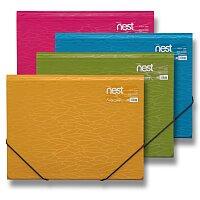 Tříchlopňové desky s gumou FolderMate Nest