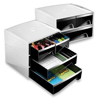 Obrázek produktu Malý zásuvkový box CEP MyCube - 186 x 185 mm, 2 nebo 3 patra