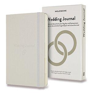 Zápisník Moleskine Passion Wedding Journal - tvrdé desky