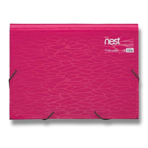 Desky na dokumenty FolderMate Nest růžová
