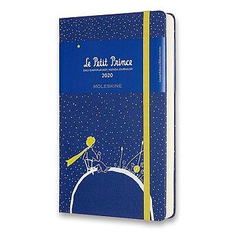 Obrázek produktu Diář Moleskine 2020 Le Petit Prince, tvrdé desky - L, denní, Planeta