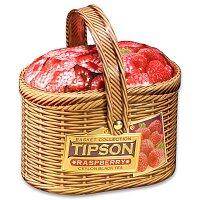 Černý čaj Tipson Basket Raspberry