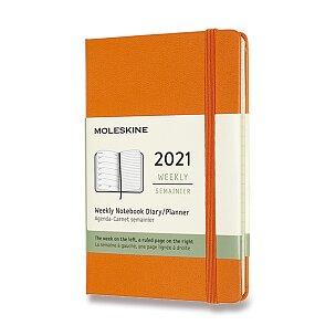 Diář Moleskine 2021 - tvrdé desky
